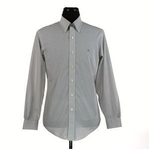 Brooks Brothers Slim Fit Non-Iron Logo L/S Shirt M